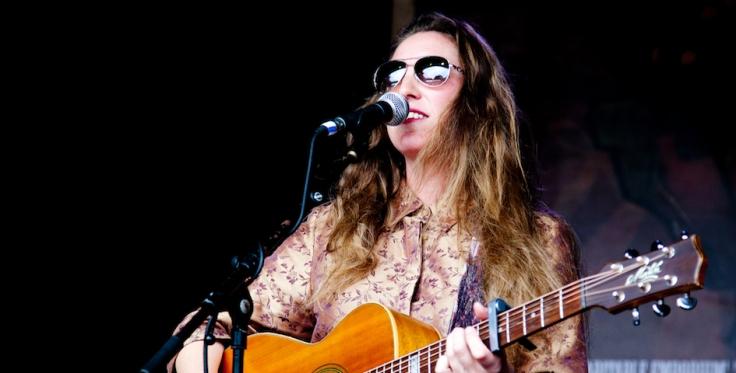 Jasmine Beth at Wimbourne Folk Festival. 2018. 5. Credit. Danika Westwood. 945 x 480